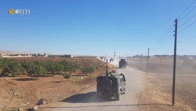 Photo of Russian-Turkish joint patrol runs in Syria's west Kobani