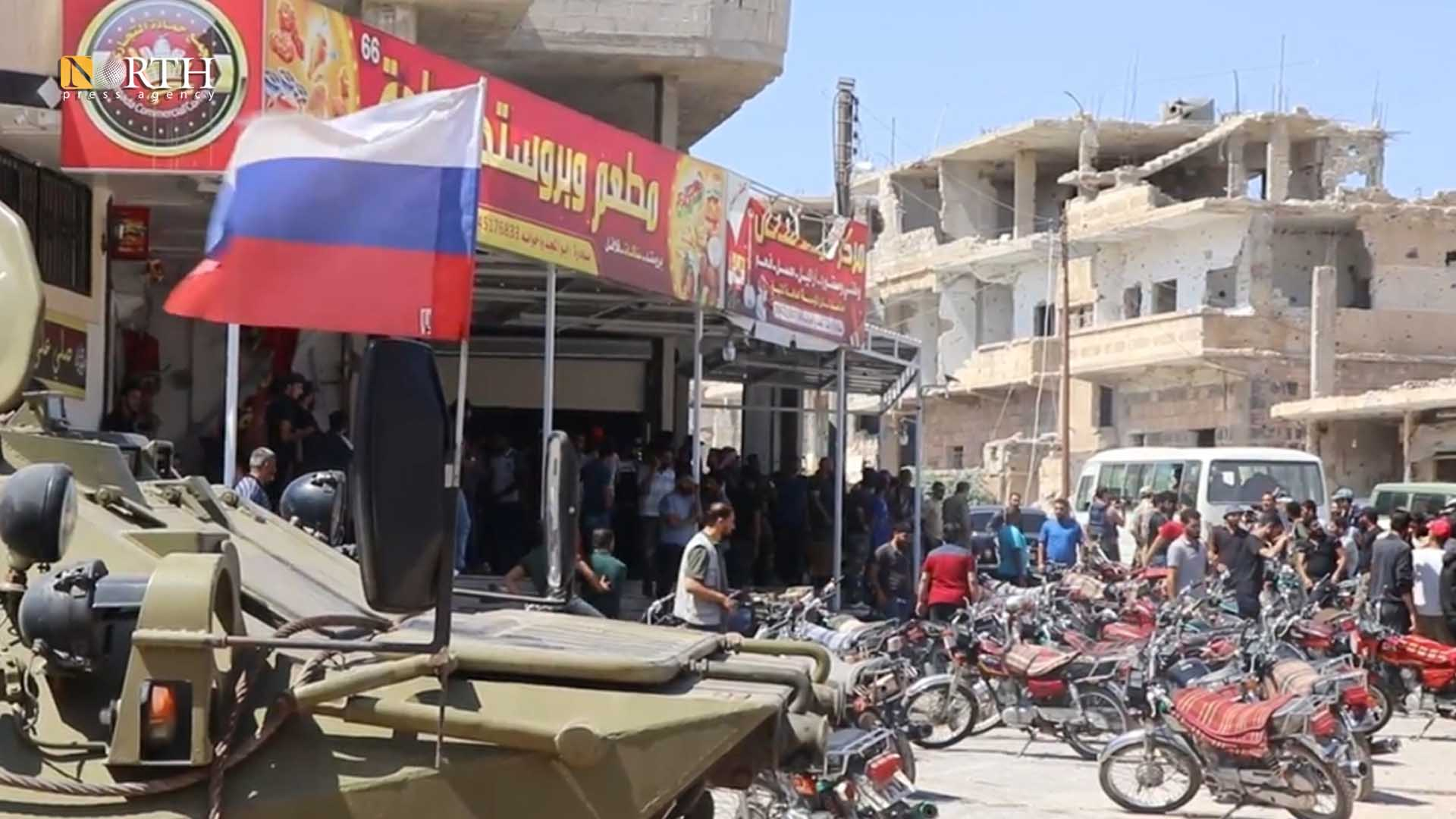 Settlement center in Daraa al-Balad – North Press