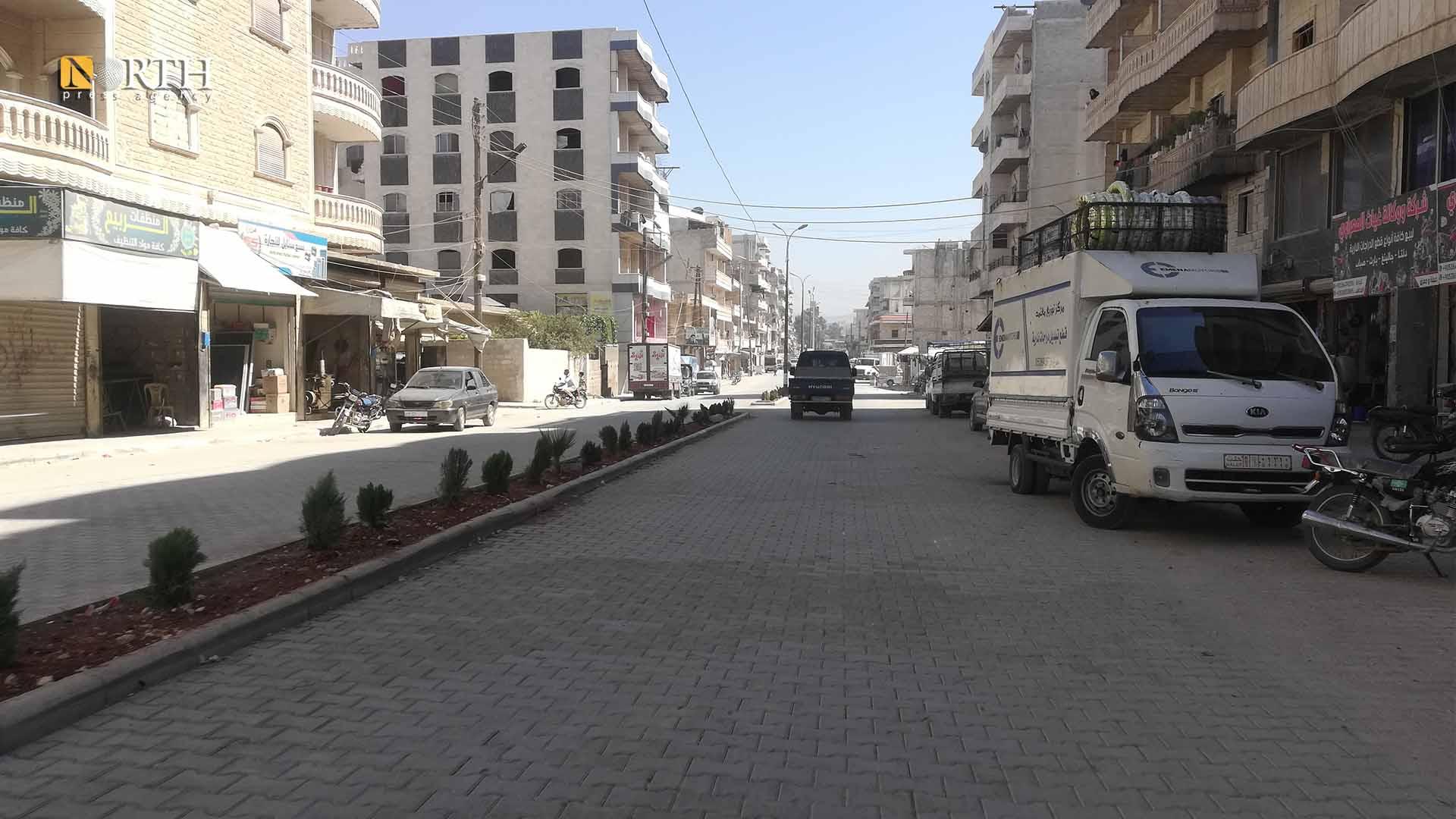 Tariq Jindires Street in Afrin – North Press