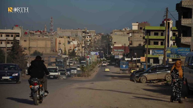 The main street in the western side of the city of Qamishli – North Press