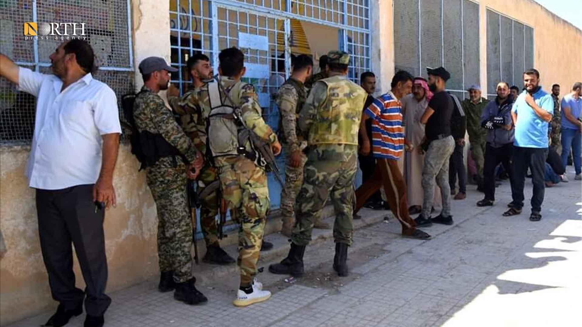 The settlement center in Abu Qantara School in the town of Tel Shehab
