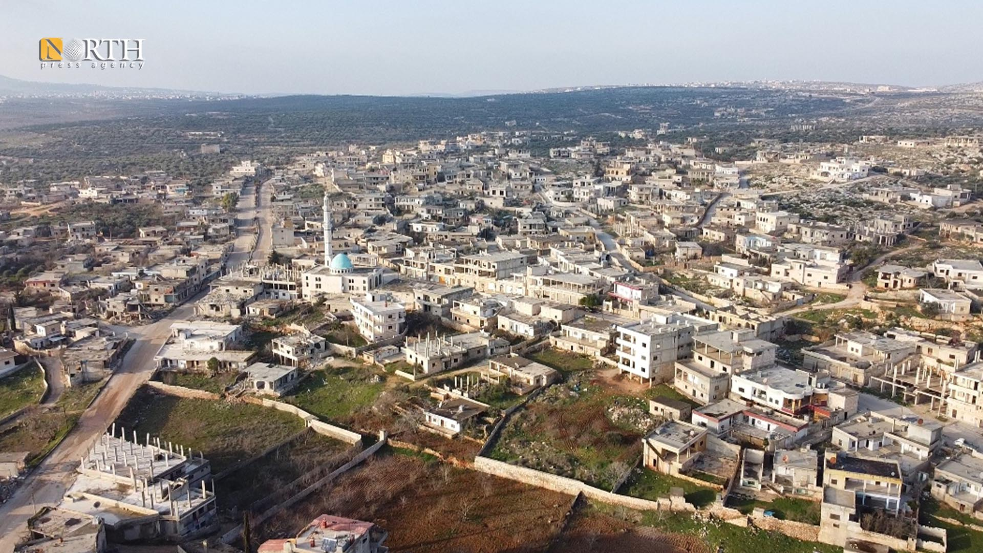 The town of al-Bara near the front lines south Idlib - North Press