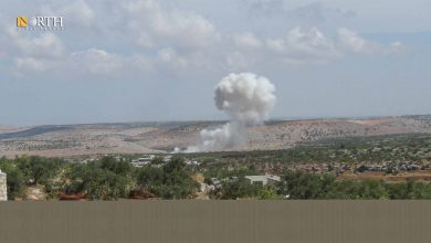 Photo of Syria's northwest witnesses mutual shelling between Syrian government and Turkish-backed factions