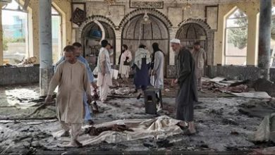 Photo of ISIS claims responsibility for a mosque explosion in Afghanistan
