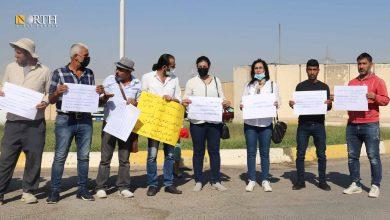 Photo of Syrian refugees in KRG's Erbil demand resettlement