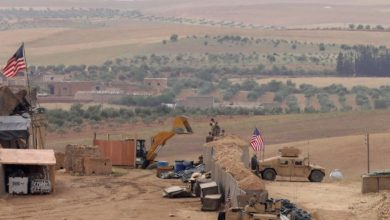 Photo of Al-Tanf US military base in Syria's southeast hit by drones attack