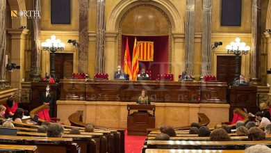 Photo of Catalan parliament recognizes AANES as a political entity