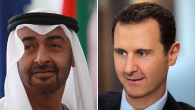 Photo of Assad calls Bin Zayed, discusses cooperation with UAE