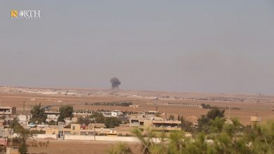 Photo of Villages in Syria's Tel Tamr hit by Turkish forces