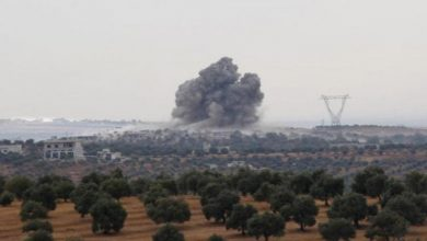 Photo of Turkish-backed opposition bombs government forces northwest Syria