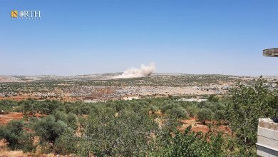 Photo of Government forces shell opposition sites in Syria's Latakia, Idlib