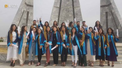 Photo of First batch of students graduate from north Syria's Kobani University