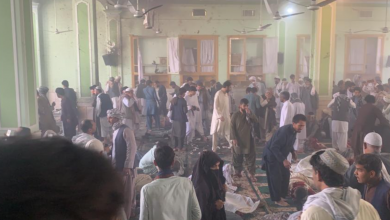Photo of Dozens killed in explosion inside a mosque in Afghanistan